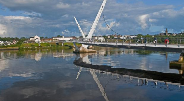 The Londonderry peace bridge - should it become Derry peace bridge?