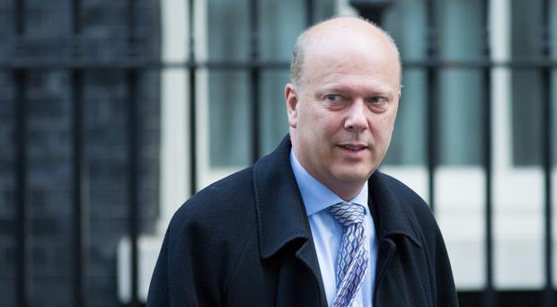 Chris Grayling defended the merits of the controversial proposed Evel reforms to voting in the Commons