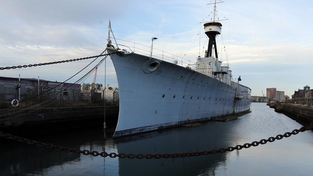It is planned to turn HMS Caroline into a floating museum