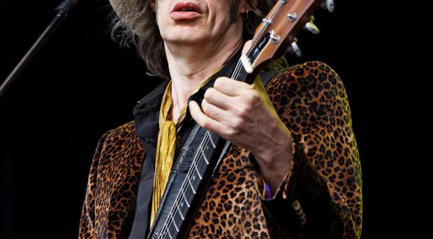 Waterboys front man Mike Scott