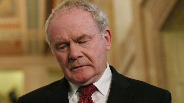 Sinn Fein's Martin McGuinness said the process to secure power-sharing is intensifying