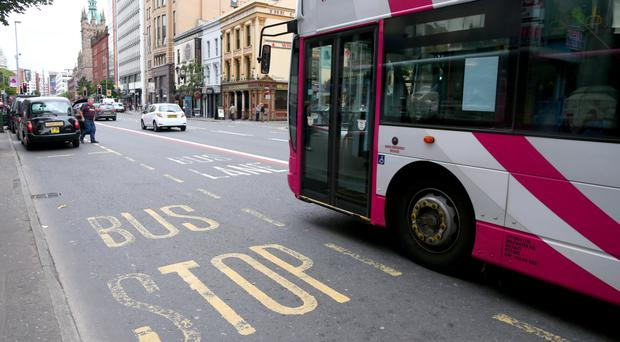 Over £1m has been accumulated in fines imposed on motorists driving in Belfast's bus lanes