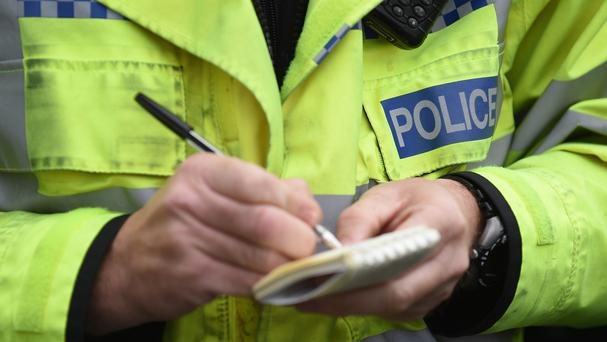 Police are investigating after raiders forced their way into a pensioner's home in north Belfast