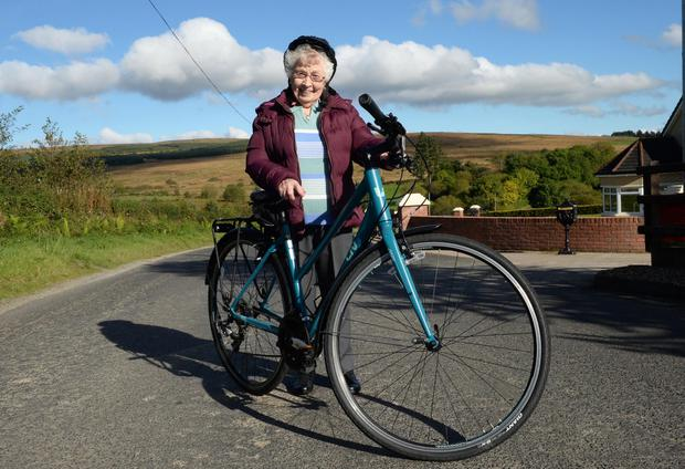Annie Slane says cycling has kept her in good health