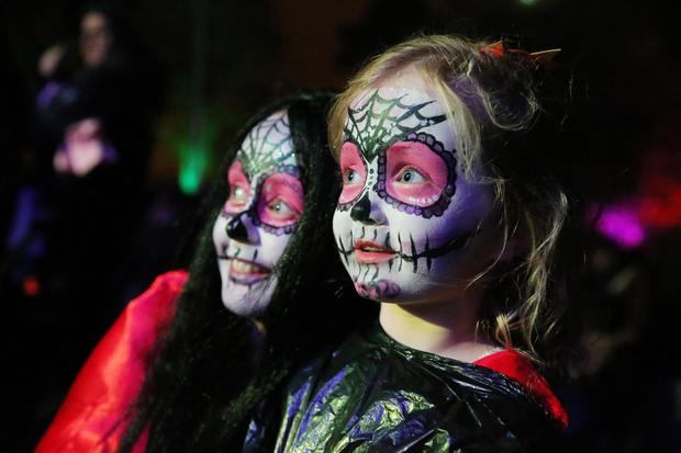 More than 5,000 revellers celebrate Lisburn's Twilight Night by Fair Light in Wallace Park