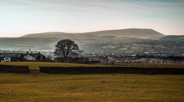 Pendle Hill is one of 13 places receiving a share of a £31 million funding boost this Halloween from the Heritage Lottery Fund (Heritage Lottery Fund/PA)