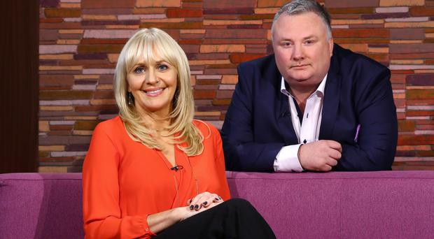 Stephen with RTE's Miriam O'Callaghan