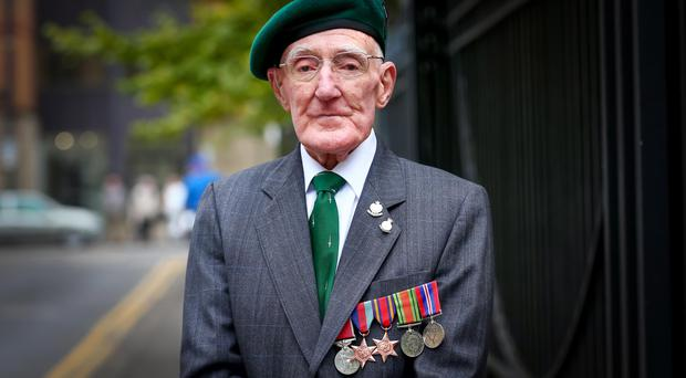 War hero: Bob Wright