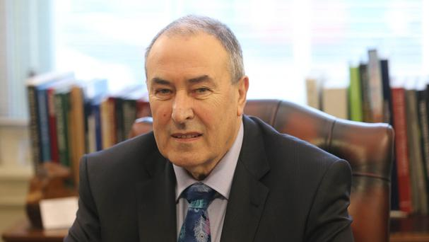 Sinn Fein's Mitchel McLaughlin assumed the role of speaker at the start of 2015