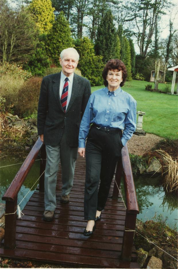 Sean Kyle and his wife Maeve in March 1997