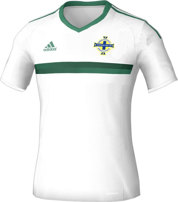 The new Northern Ireland away kit