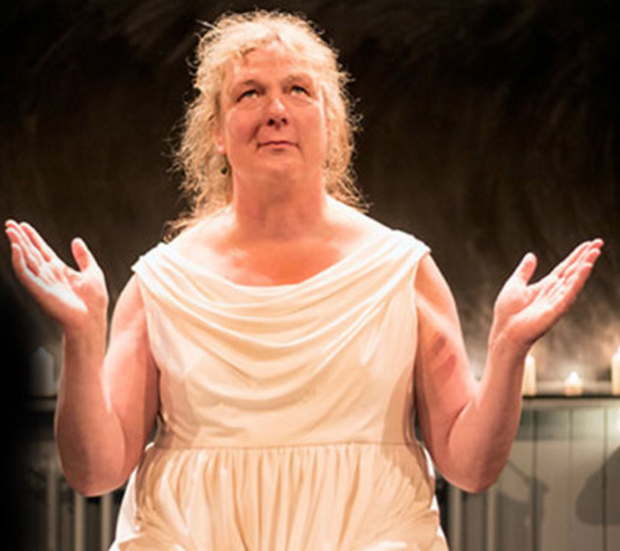 Holy uproar: The play caused controversy when it was performed in Glasgow in 2009