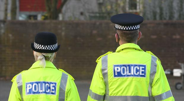 Police are investigating an attack on a house in north Belfast