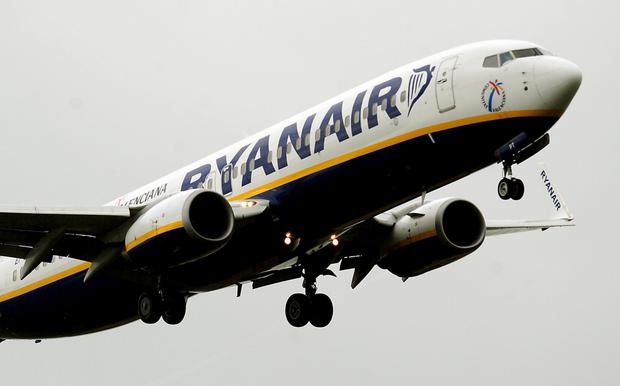 Ryanair flight was due in Shannon at 2.40pm