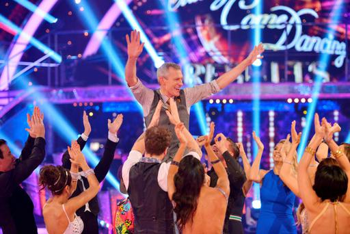 Jeremy Vine after he was voted off Strictly Come Dancing