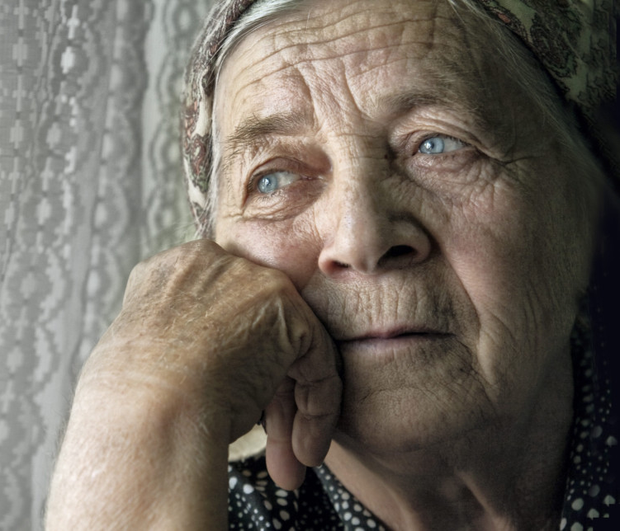 Pensioners have been targeted in 900 raids over six months. Image posed