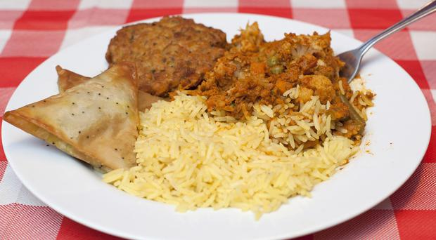 A typical Indian takeaway has about twice the recommended maximum level of fat and high levels of salt, according to health chiefs