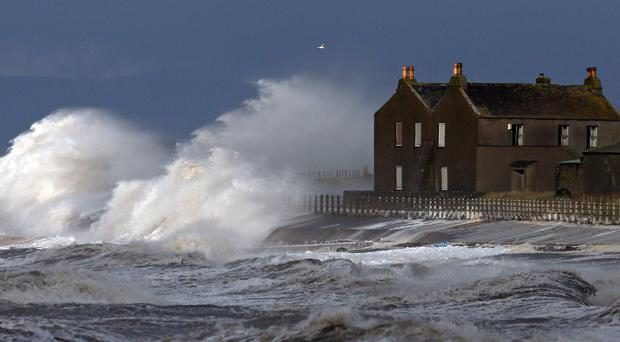 More heavy rain and strong winds are forecast as Storm Barney sweeps in