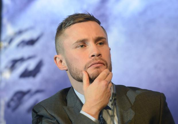 MBE for Belfast boxer Carl Frampton