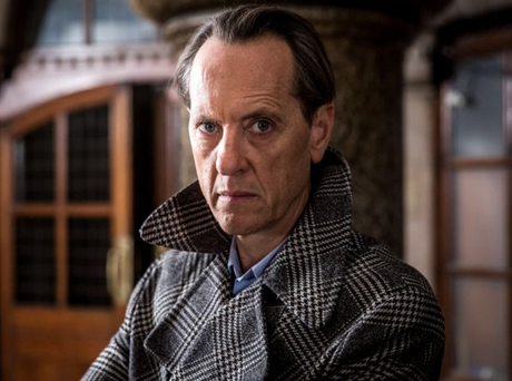 Actor Richard E Grant was among hundreds of motorists caught up in gridlock following a seven-car collision on the M2 yesterday