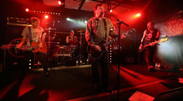 Stiff Little Fingers perform in Paris