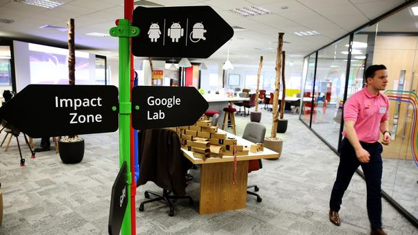 The Google Innovation Lab has opened in Belfast