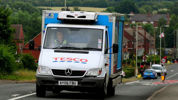 Tesco drivers will be balloted on pre-Christmas strike action