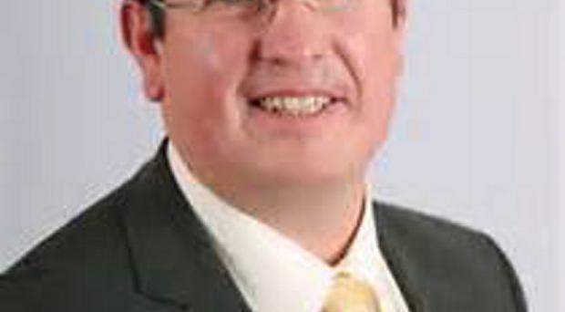 Fermanagh and South Tyrone UUP MLA Neil Somerville who has stepped aside from his post