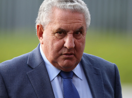 Jim Boyce, a former Irish Football Association president and Fifa vice-president