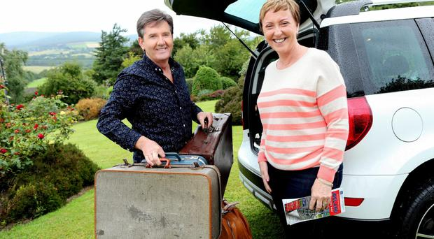 Daniel and Majella on their first TV B&B Road Trip