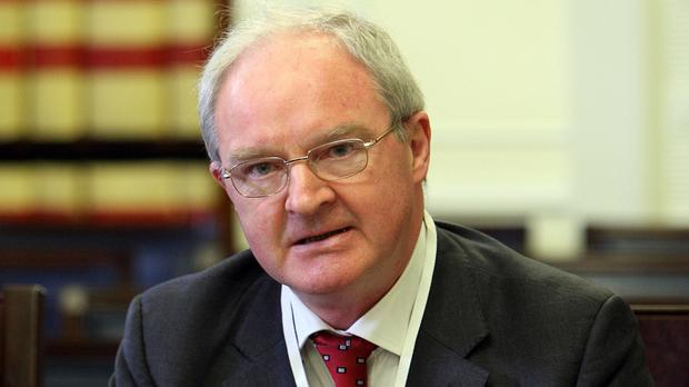 Lord Chief Justice Sir Declan Morgan reiterated a warning about the possible impact of court closures