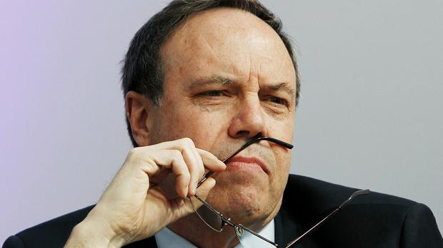 Nigel Dodds was tipped to take over from Peter Robinson as DUP leader