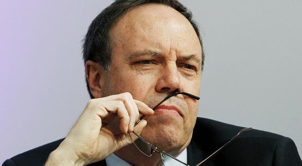 Nigel Dodds is tipped to take over from Peter Robinson as DUP leader