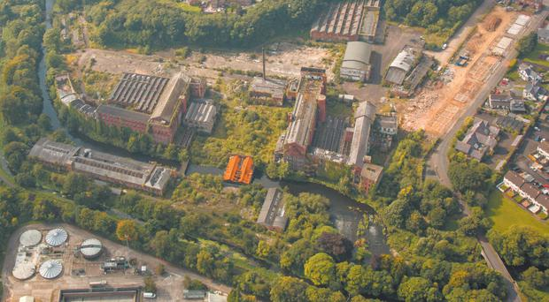 The Hilden Mill site comprises a range of historic buildings, many of which date from the early 1800s