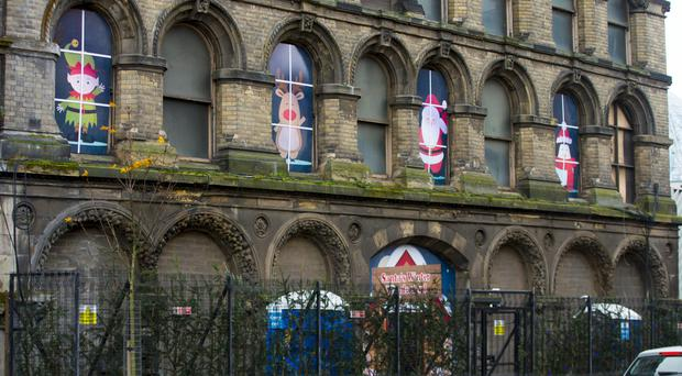 Santa's Winter Wonderland, located in a disused warehouse on Ann Street in Belfast, has been attracting heavy criticism on its Facebook page