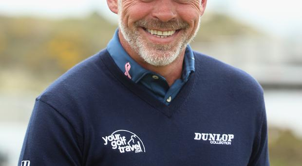 Golf star Darren Clarke