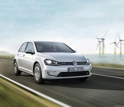The number of new VW Golf models sold here fell in November