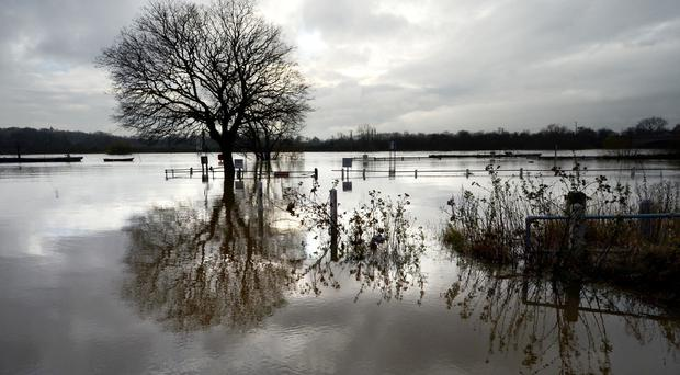 Flood alerts have been issued in many areas