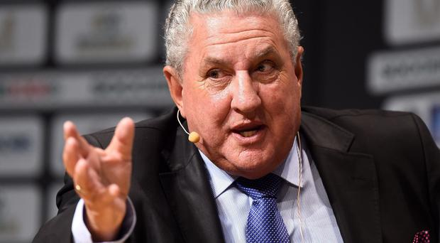 Former Fifa vice-president Jim Boyce stepped down from the organisation this year