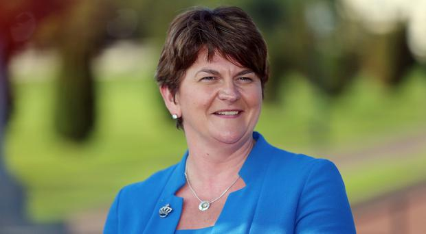 Arlene Foster is Finance Minister at Stormont