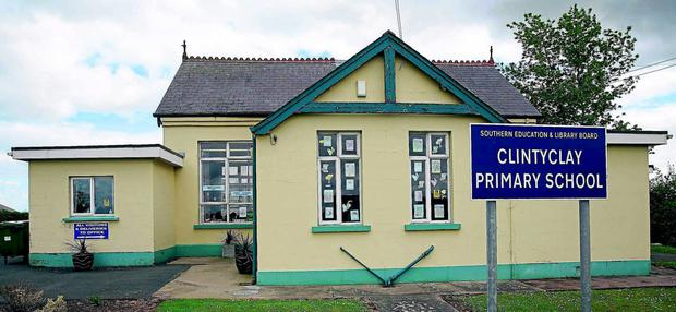 Clintyclay Primary School in Dungannon, Co Tyrone