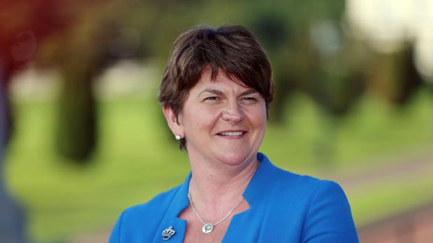 Arlene Foster is so far the only DUP member to put forward nomination papers to replace retiring leader Peter Robinson