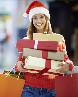 Shoppers are flocking south this Christmas