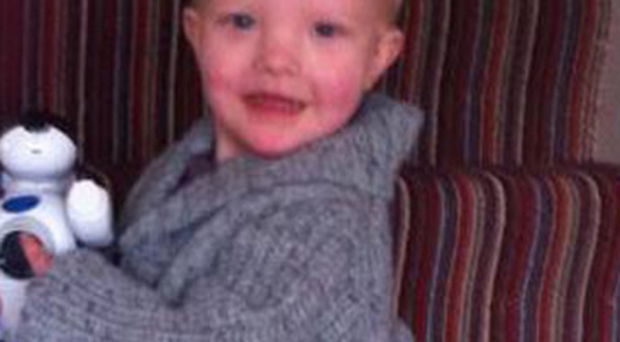 Tragic loss: JJ Sloss-Hartley was suffering from deletion syndrome