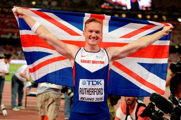 Tyson Fury and Greg Rutherford (pictured) have been at loggerheads over next week's SPOTY awards