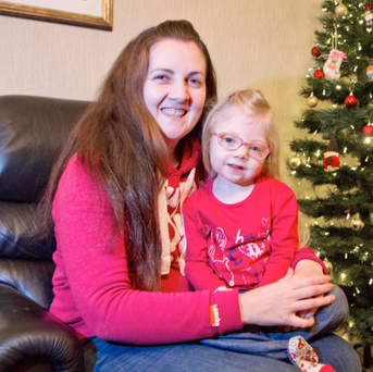 Anna Turner, at home with her mother Jenna, leads a full and normal life thanks to a lifesaving drug