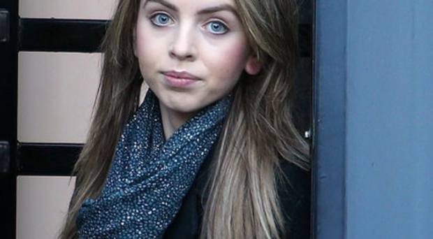 Orla O'Hanlon outside court yesterday