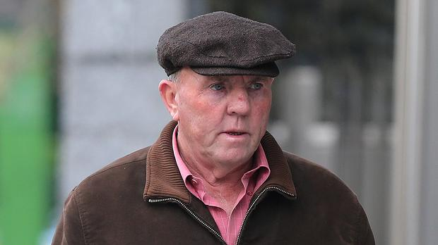 Thomas Murphy arrives at the non-jury Special Criminal Court in Dublin