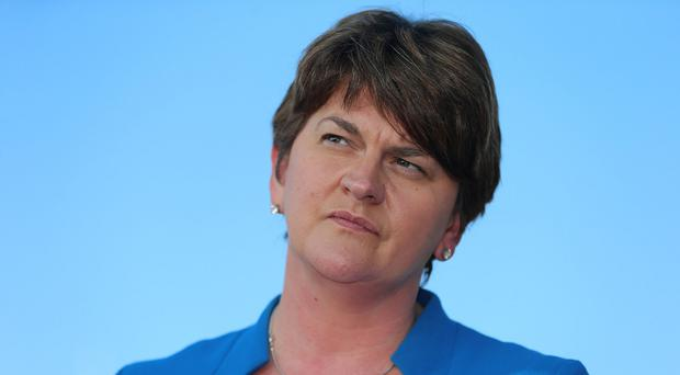 Finance minister Arlene Foster said the budget had been set under