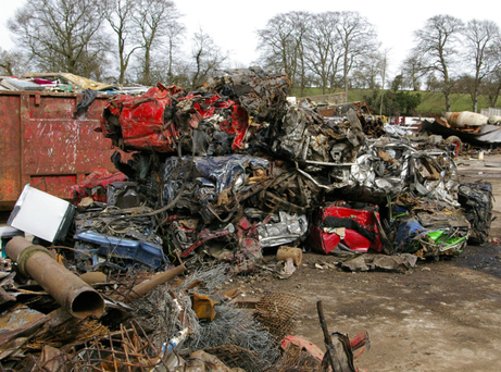 A proportion of the scrap that turns up in yards is stolen
